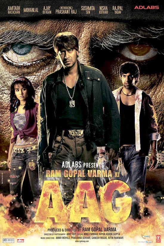 Ram Gopal Varma Ki Aag Movie Review Hindi