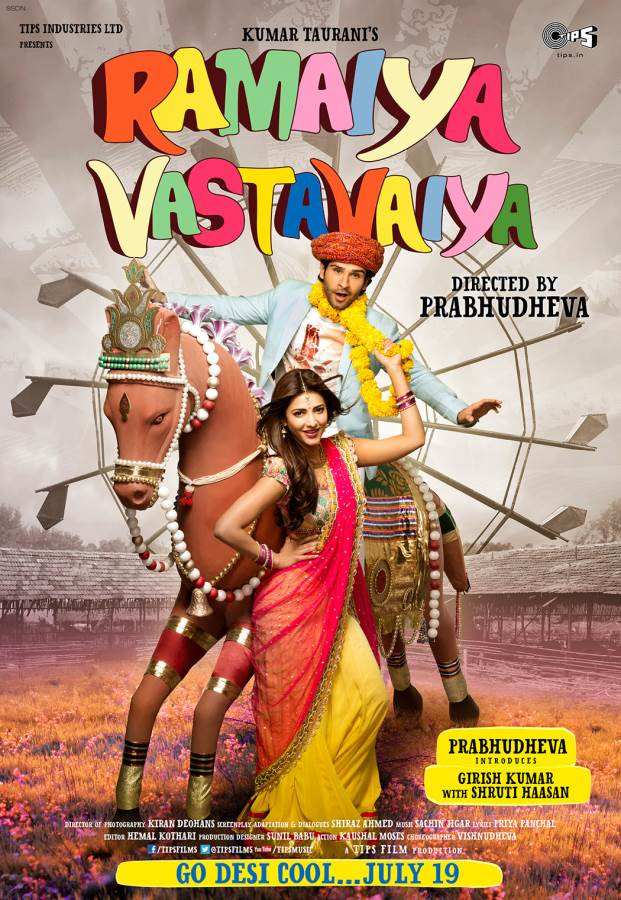 Ramaiya Vastavaiya-The Answer came in Songs & Romance! Movie Review Hindi
