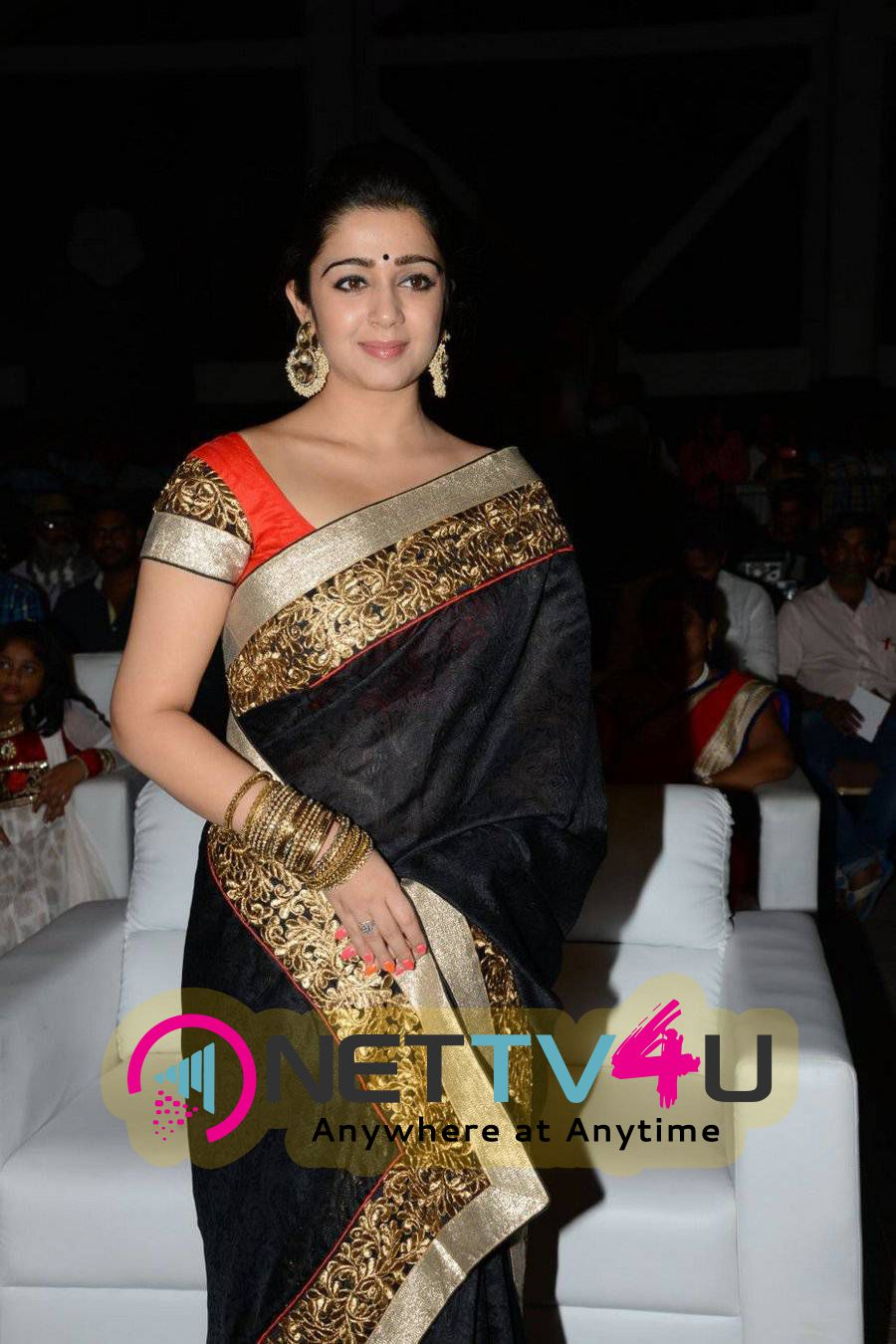 Rare Pics Of Actress Charmi Kaur At Jyothi Lakshmi Movie Audio Launch