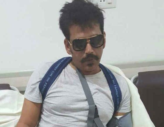Ravi Kishan Injured On The Sets Of Supreme!