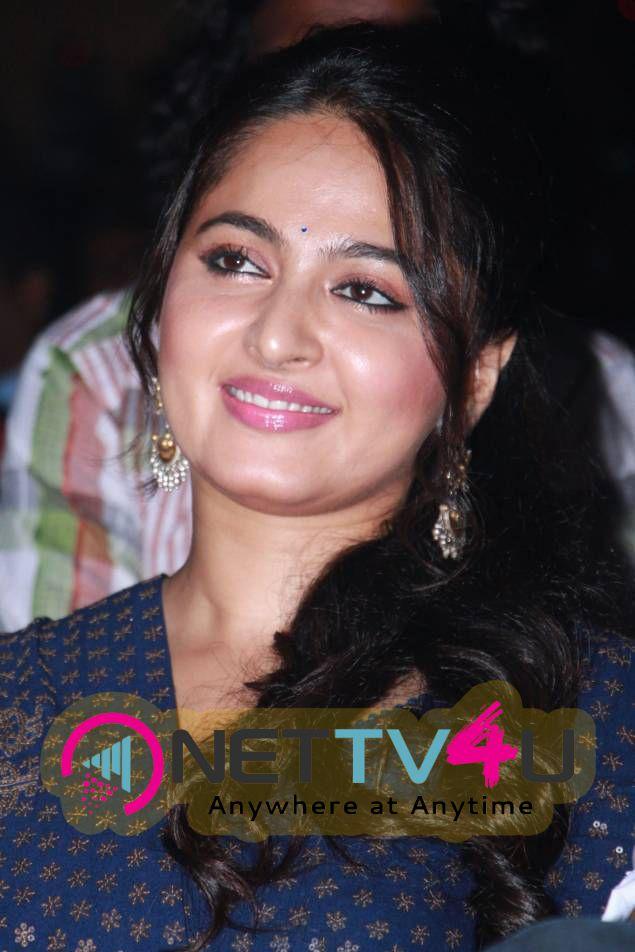 Recent Photos Of Actress Anushka Shetty At Baahubali Tamil Trailer Launch