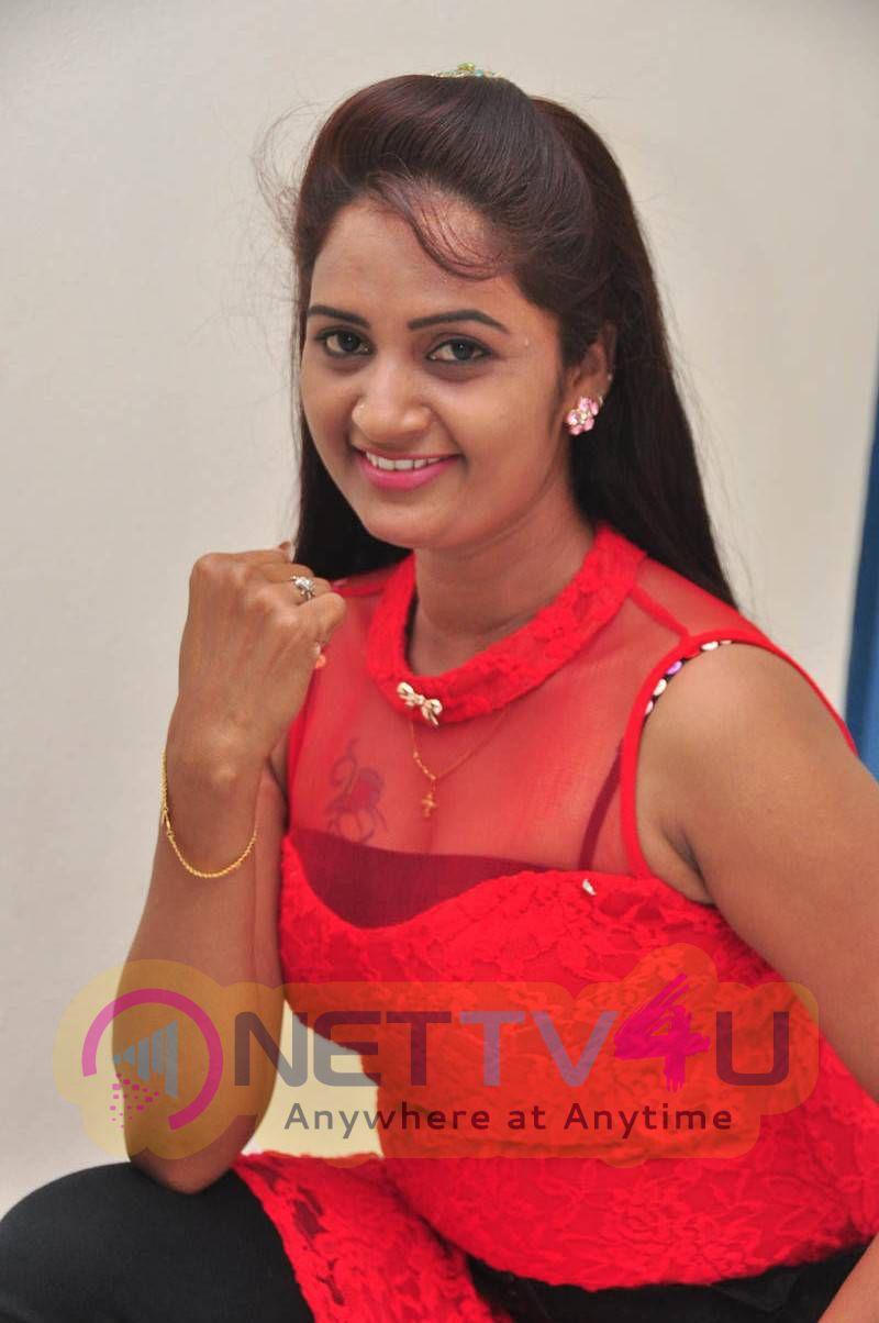 Recent Photos Of Actress Kaveri At Andala Chandamama Movie Press Meet
