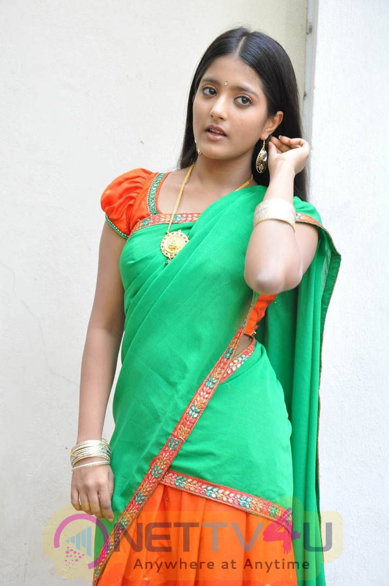 Recent Stills Of Actress Ulka Gupta At Andhra Pori Movie Press Meet