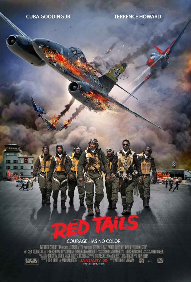Red Tails Movie Review English