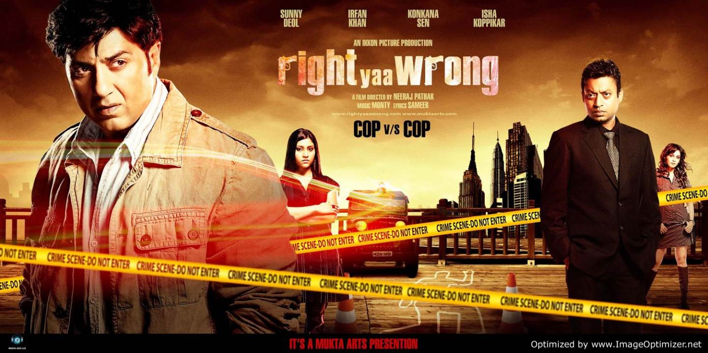 Right Yaaa Wrong Movie Review Hindi
