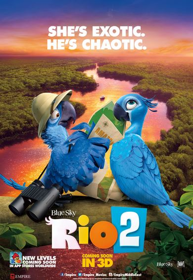 Rio 2 Movie Review English