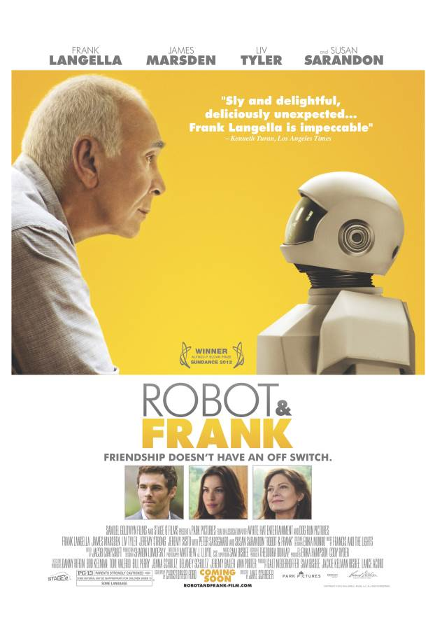 Robot & Frank Movie Review English
