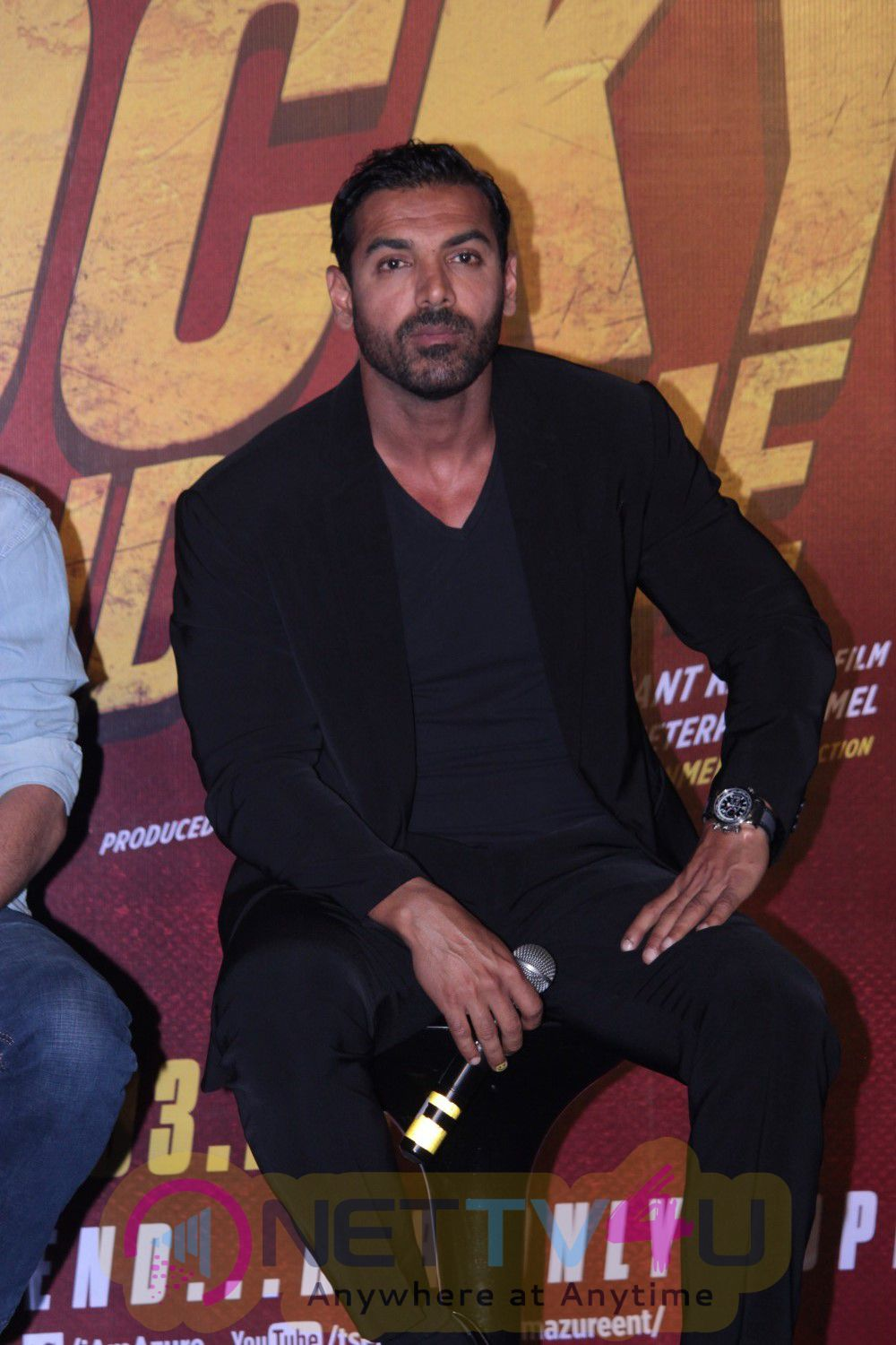 Rocky Handsome Film Trailer Launch Stills