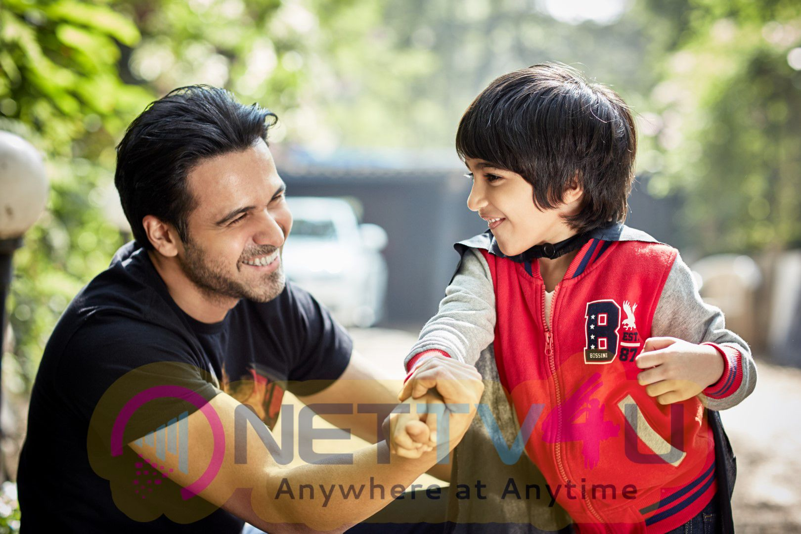 "Romantic Emraan Hashmi Announces His Book ""The Kiss Of Life--How A Superhero & My Son Defeated Cancer"" Image."
