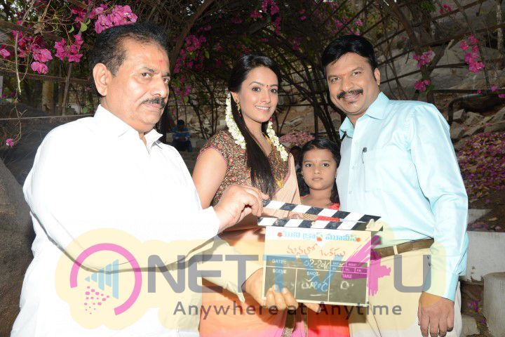 RP Patnaik And Anita Hassanandani At Manalo Okkadu Movie Opening Stills