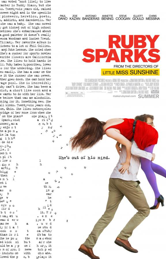 Ruby Sparks Movie Review English