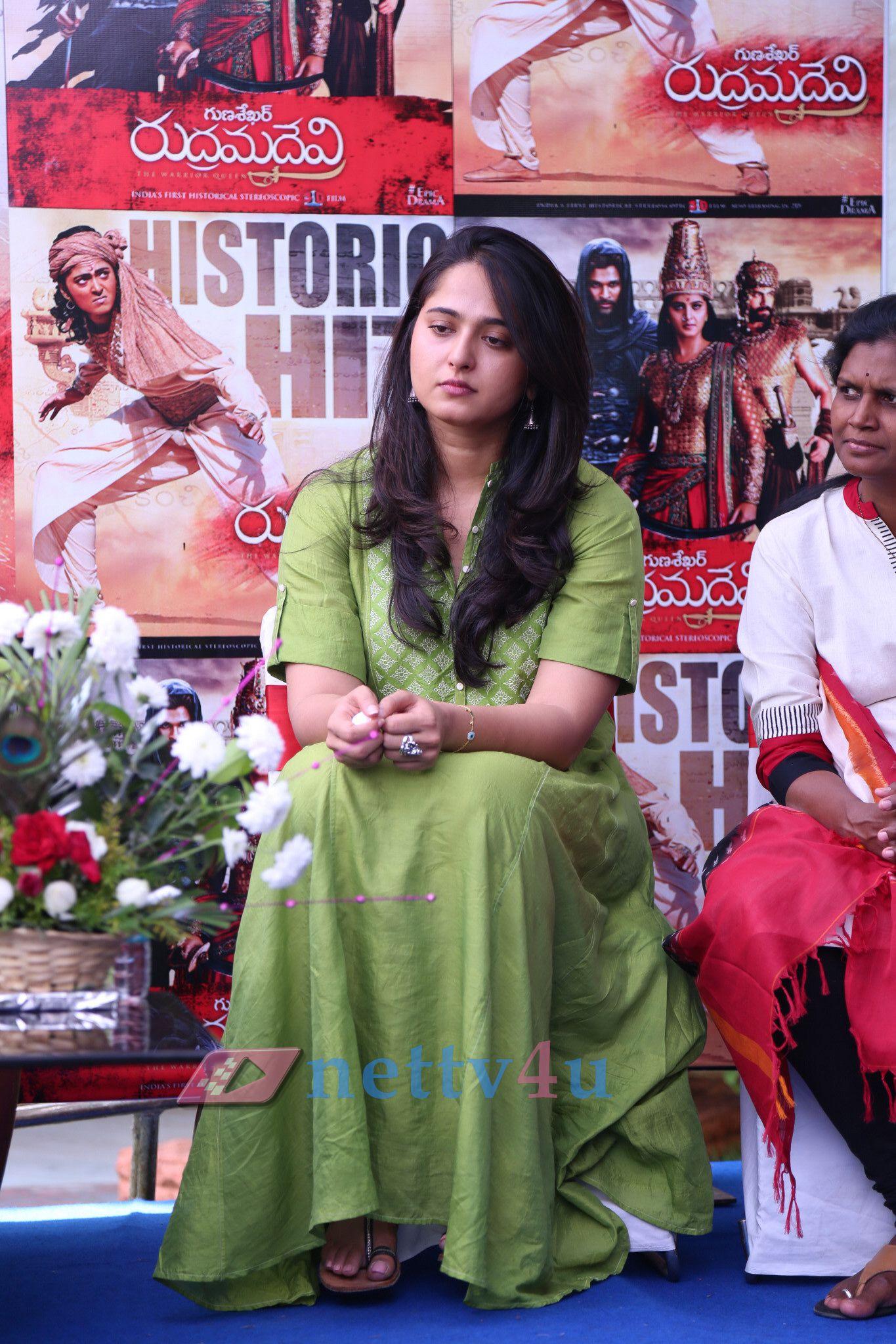 Rudramadevi Movie Press Meet By Dasari Narayana Rao Photos