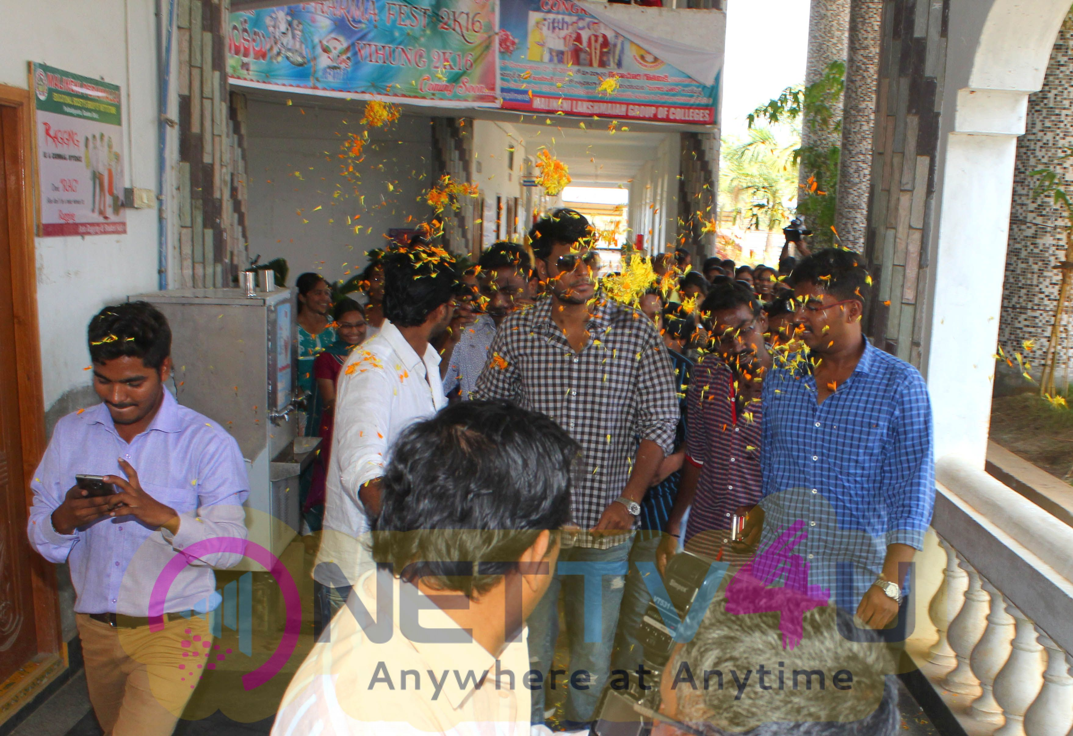 RUN Team At Malineni Lakshmaiah Women's Engineering College Guntur Stills