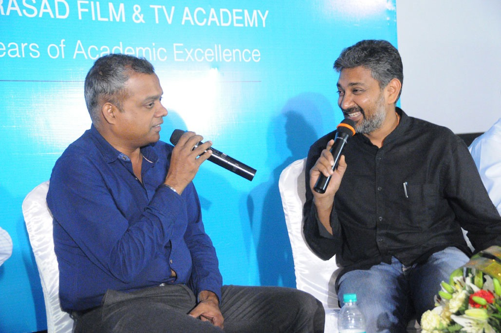 S.S.Rajamouli And Gowtham Menon Chief Guests At L.V.Prasad Film & TV Academy Convocation Day