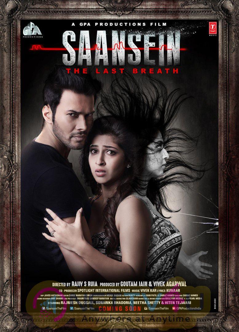 Saansein Hindi Movie Attractive Poster