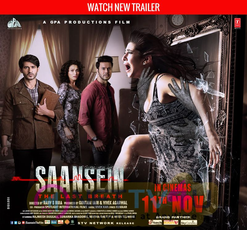 Saansein Hindi Movie Release Date Poster