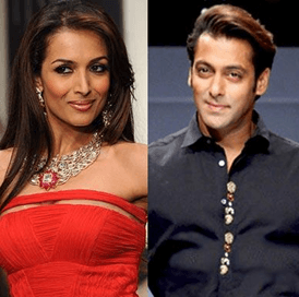 Salman Khan Unmindful Of Malaika's Presence In Show.