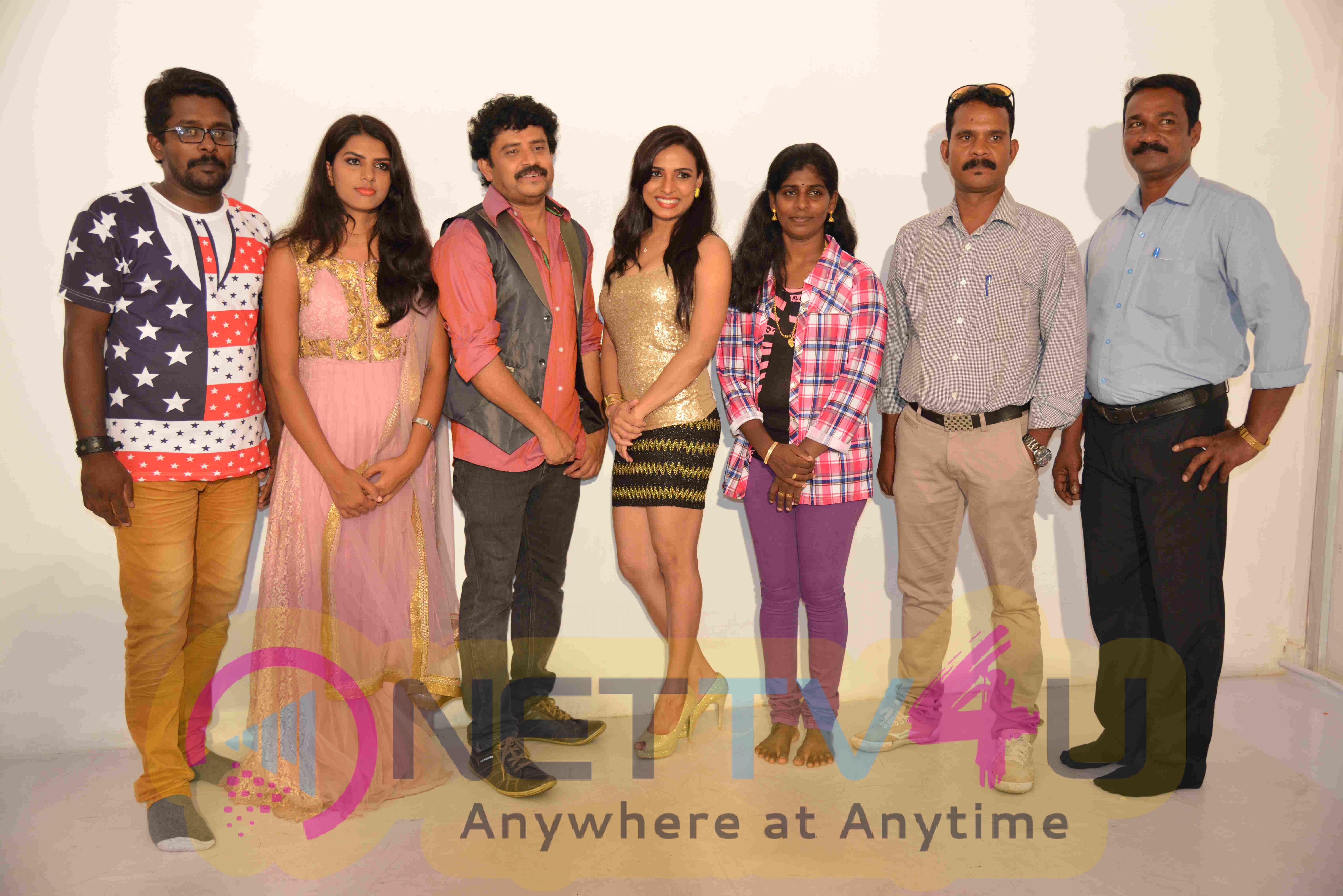 Samartha Film Press Meet Photo Shoot Stills
