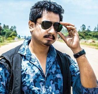 Sanchari Vijay Plays A Visually Challenged Guy!