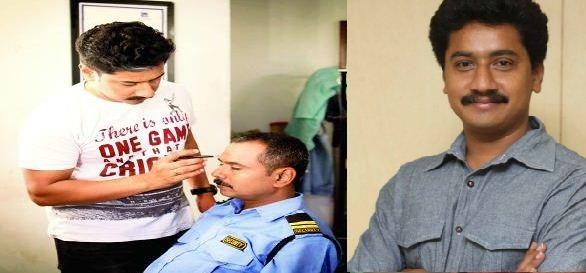 Sanchari Vijay Turns A Make-Up Artist!