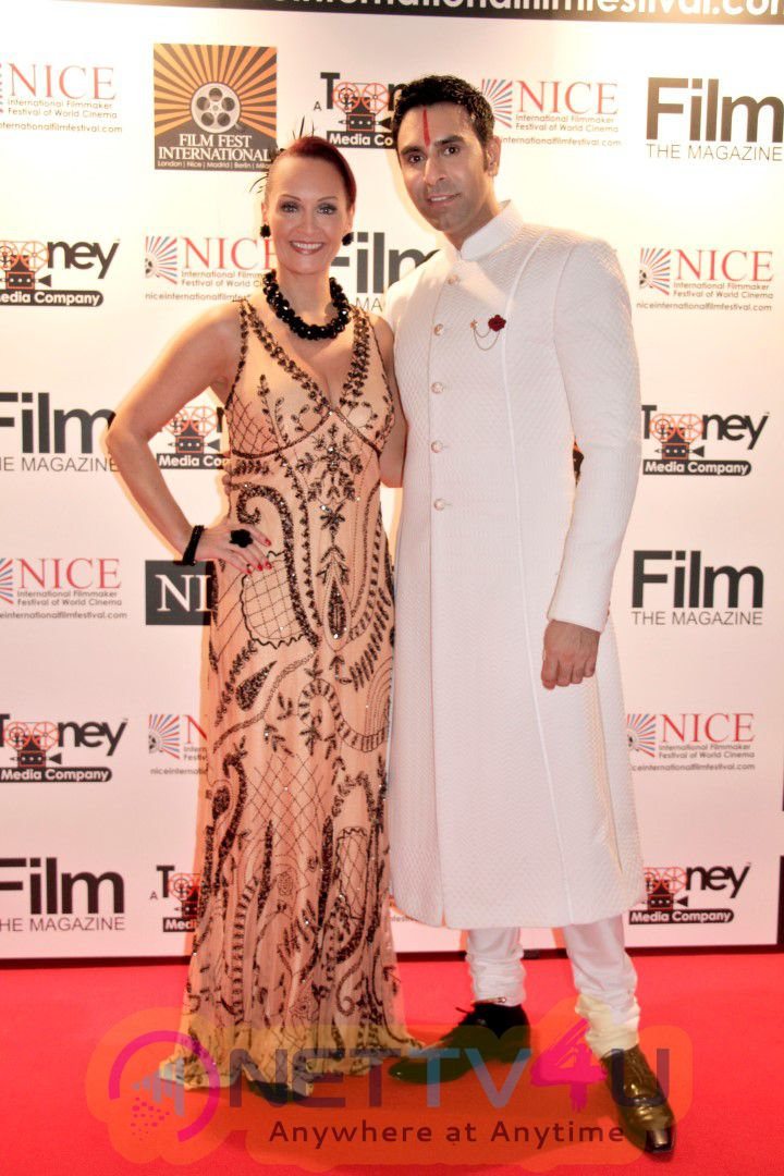 Sandip Soparrkar On Red Carpet At Nice International Film Festival 2016 Photos