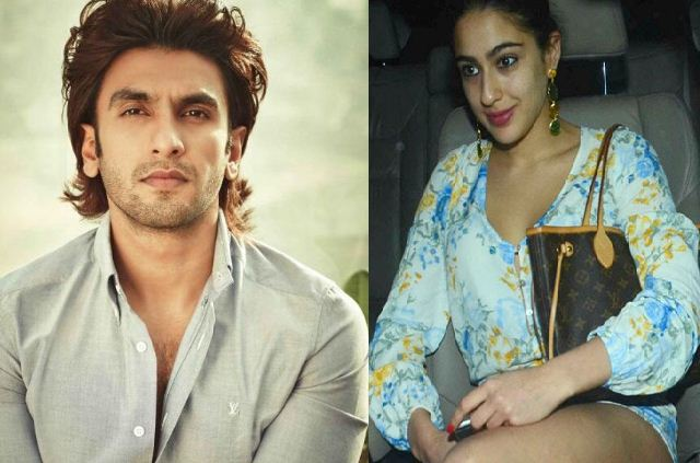 Sara Ali Khan's Grand Debut In Bollywood With Hottie Ranveer!
