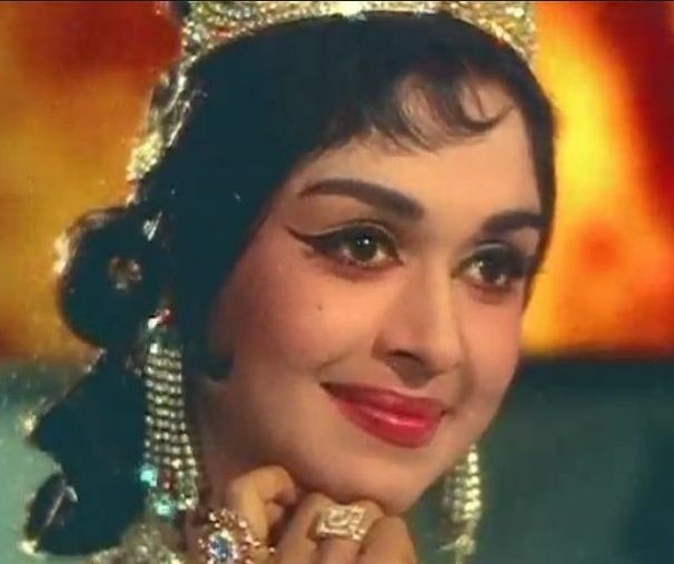 Saroja Devi In An Advertisement!
