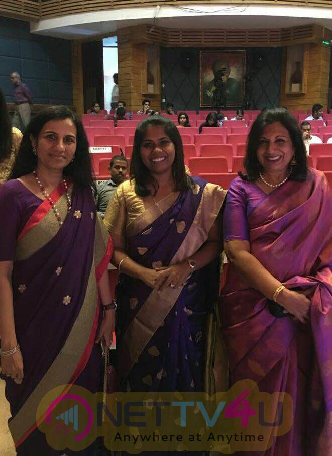 Sathyabama University Dr. Mariazeena Johnson Honoured With Women Transforming India Award 2016 Stills