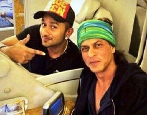 Shah Rukh Joins With Yo Yo Honey Singh!