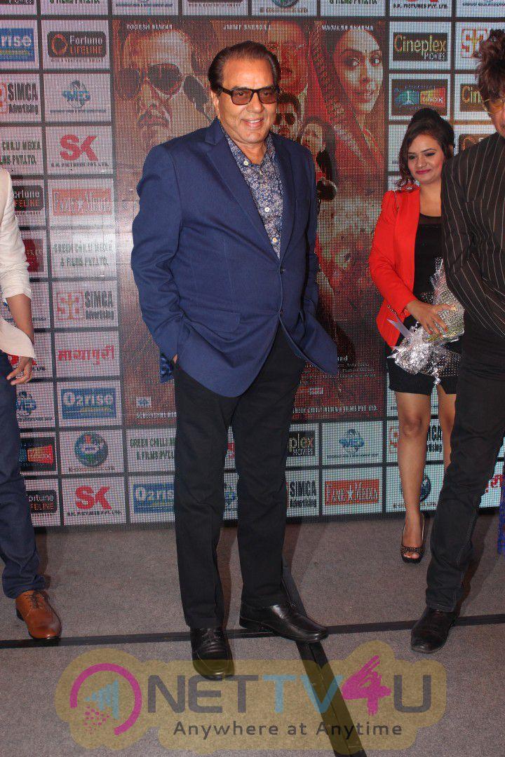 Shakti Kapoor & Dharmendra At Launch First Look Of Promo Dil Sala Sanki Beauteous Photos