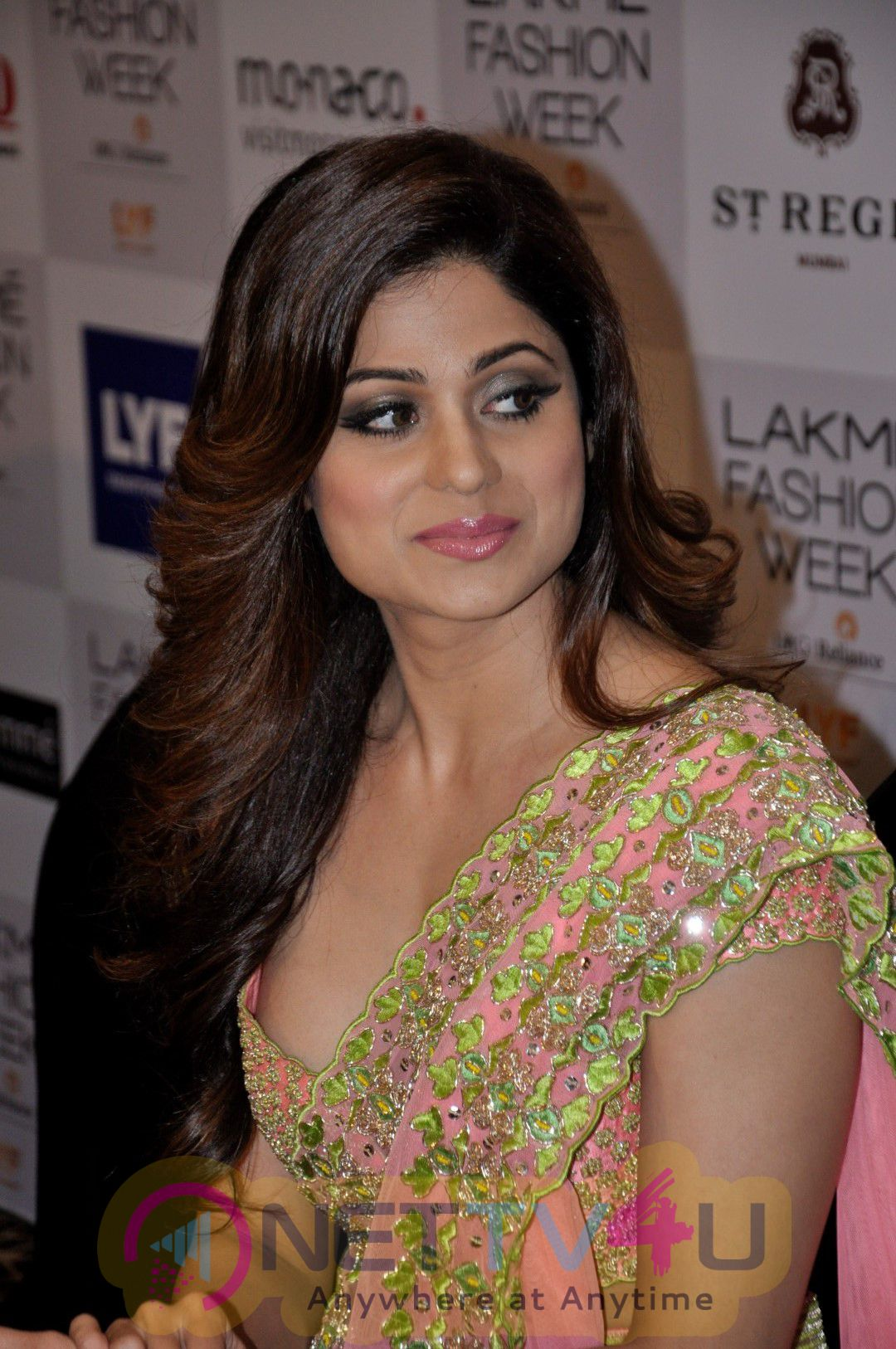 Shamita Shetty Spotted At Lakme Fashion Week Pics
