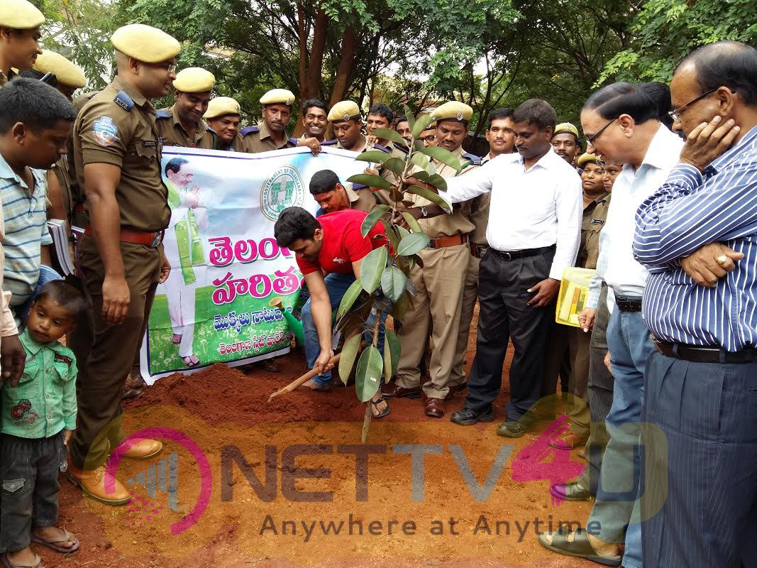 Sharwanand Participate In Haritha Haram Excellent Photos