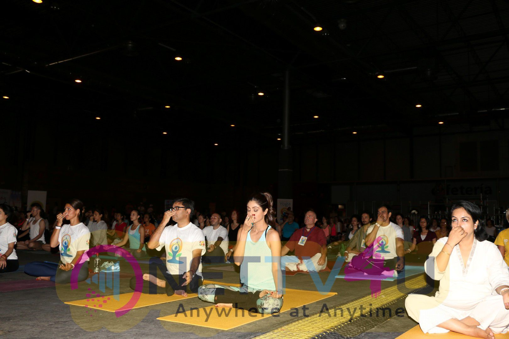 Shilpa Shetty Conducted A IIFA Stomp Yoga Master Class Excellent Photos