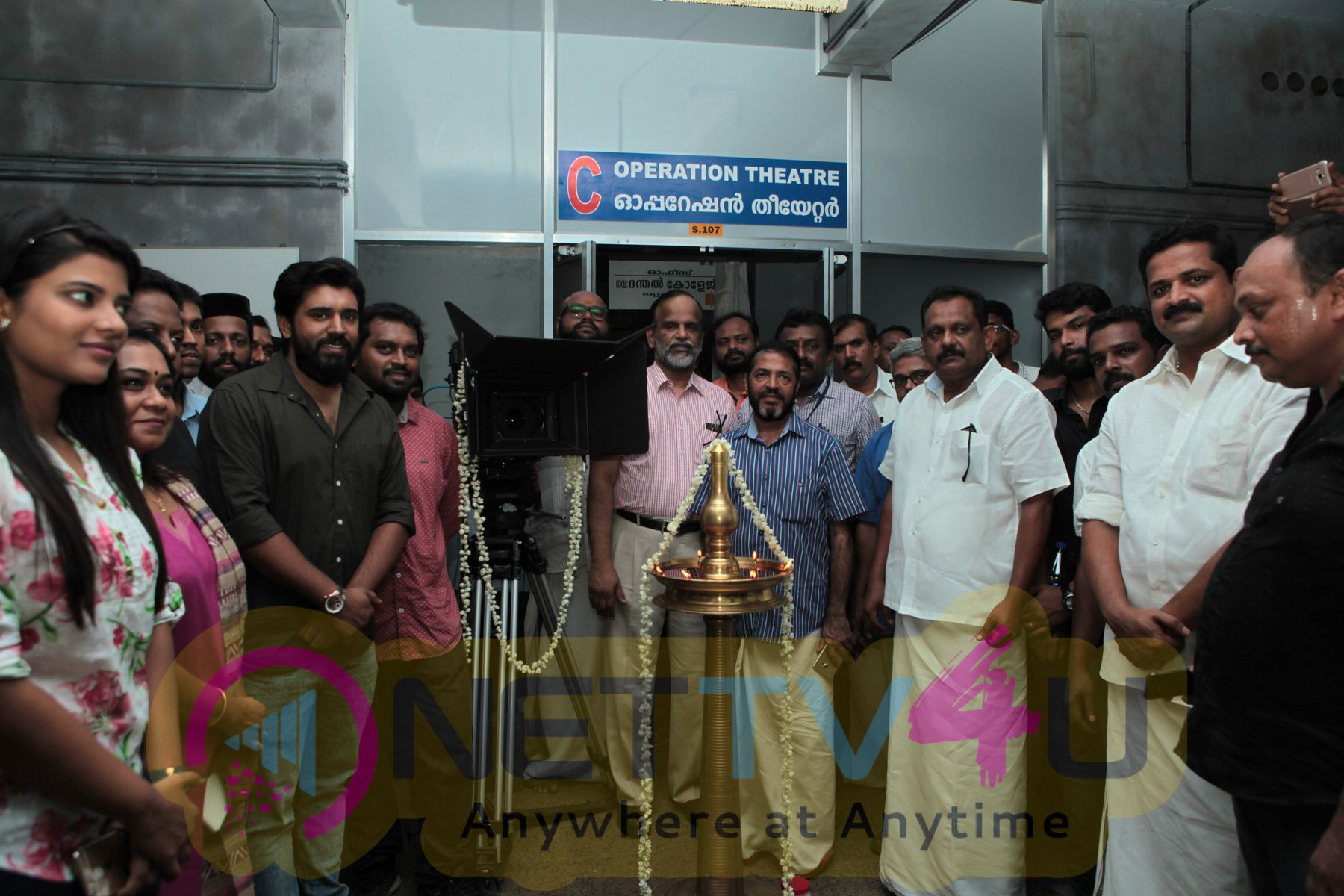 Sidhartha Siva New Malayalam Movie Pooja Stills Malayalam Gallery