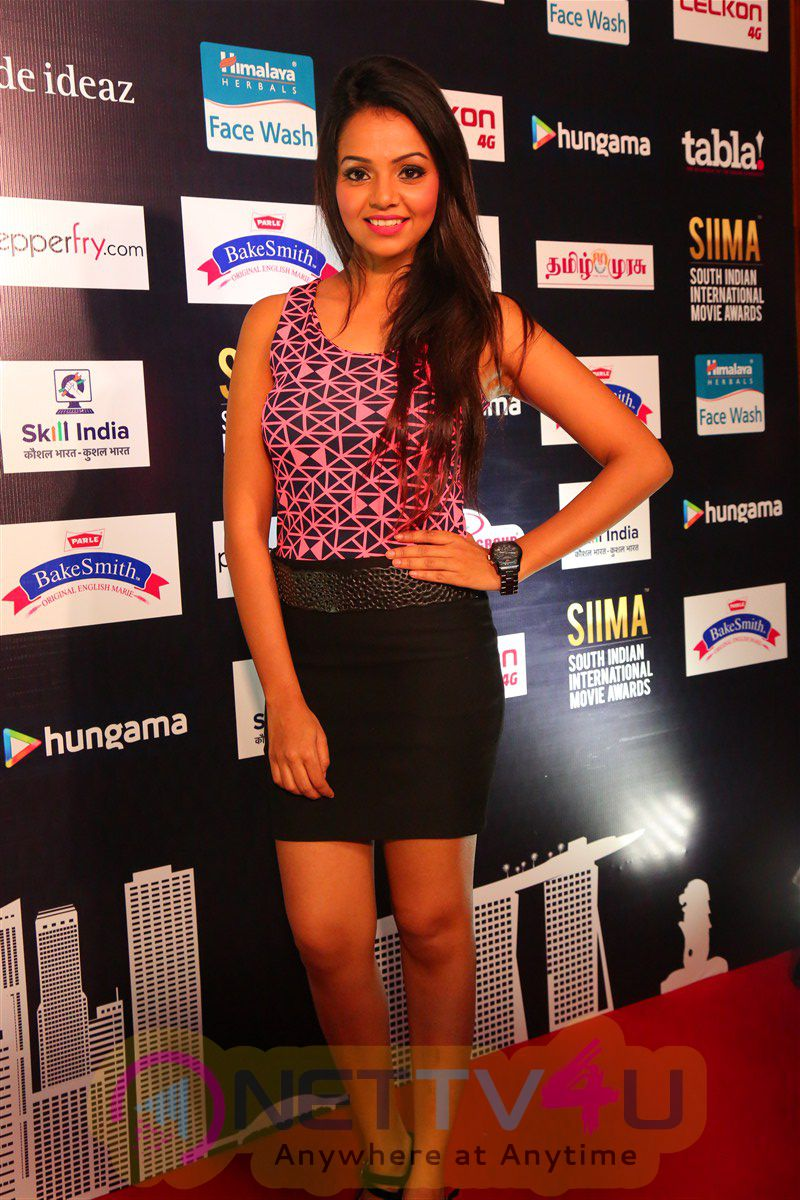 SIIMA Awards Press Meet Attractive Photos