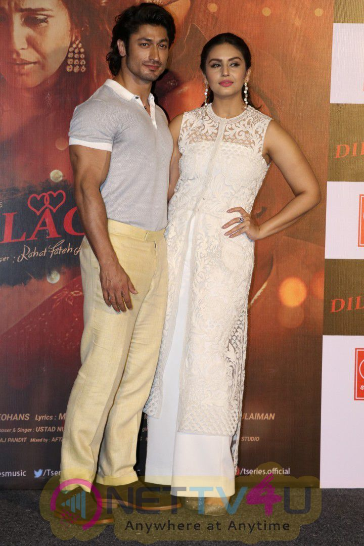 SIngle Launch Of Rahat Fateh Ali Khan's Dillagi With Vidyut Jammwal & Huma Qureshi Images