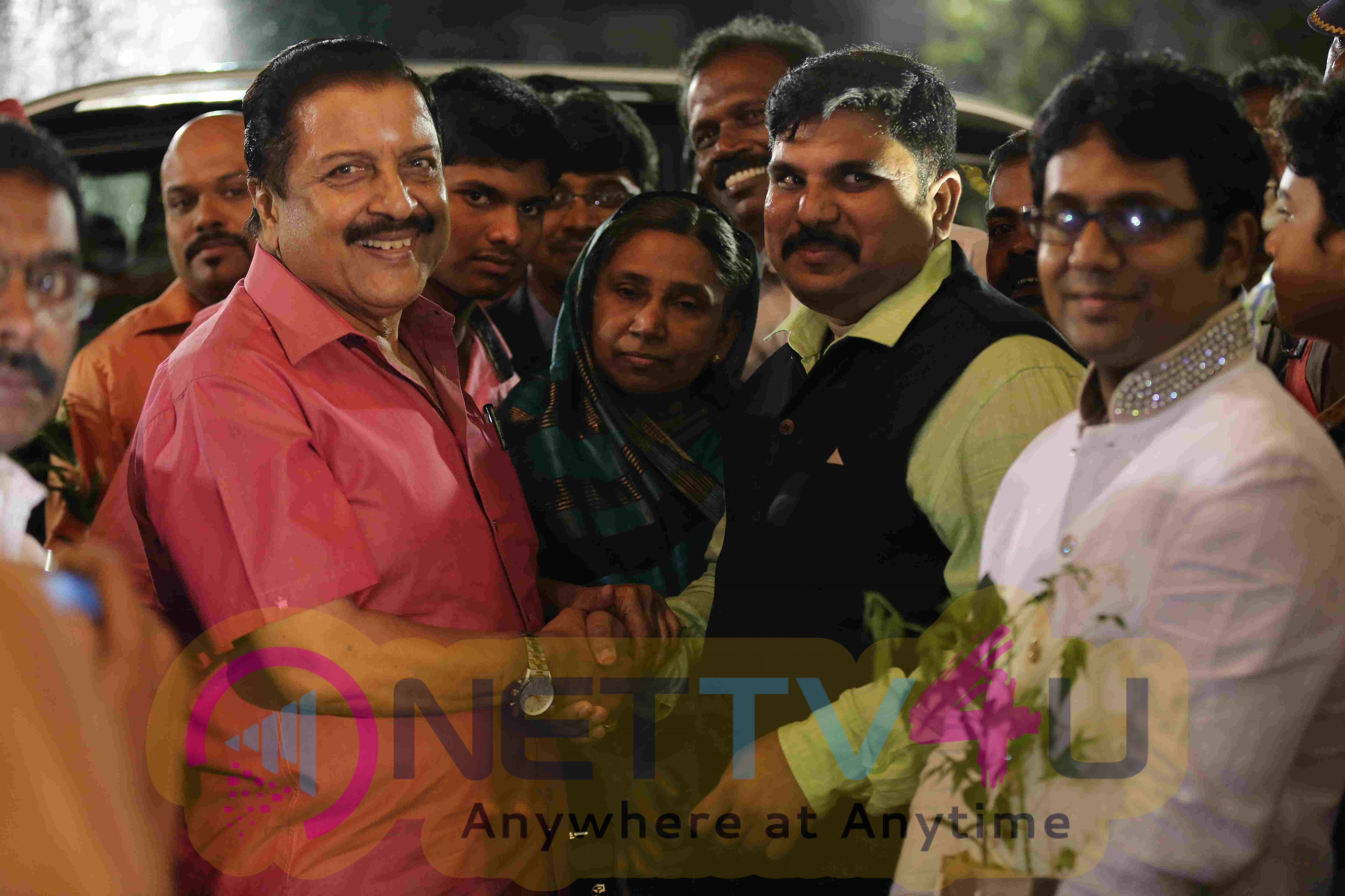 Social Activist Abdul Gani Reception Attractive Photos