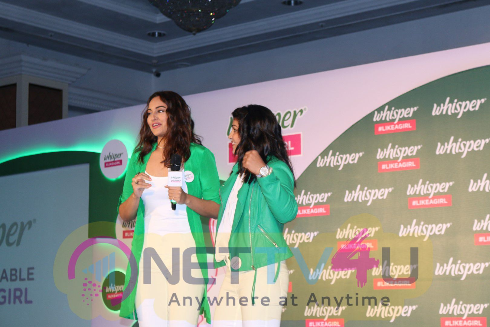 Sonakshi Sinha At Whisper India Host Announcement Of The Like Girl Photos