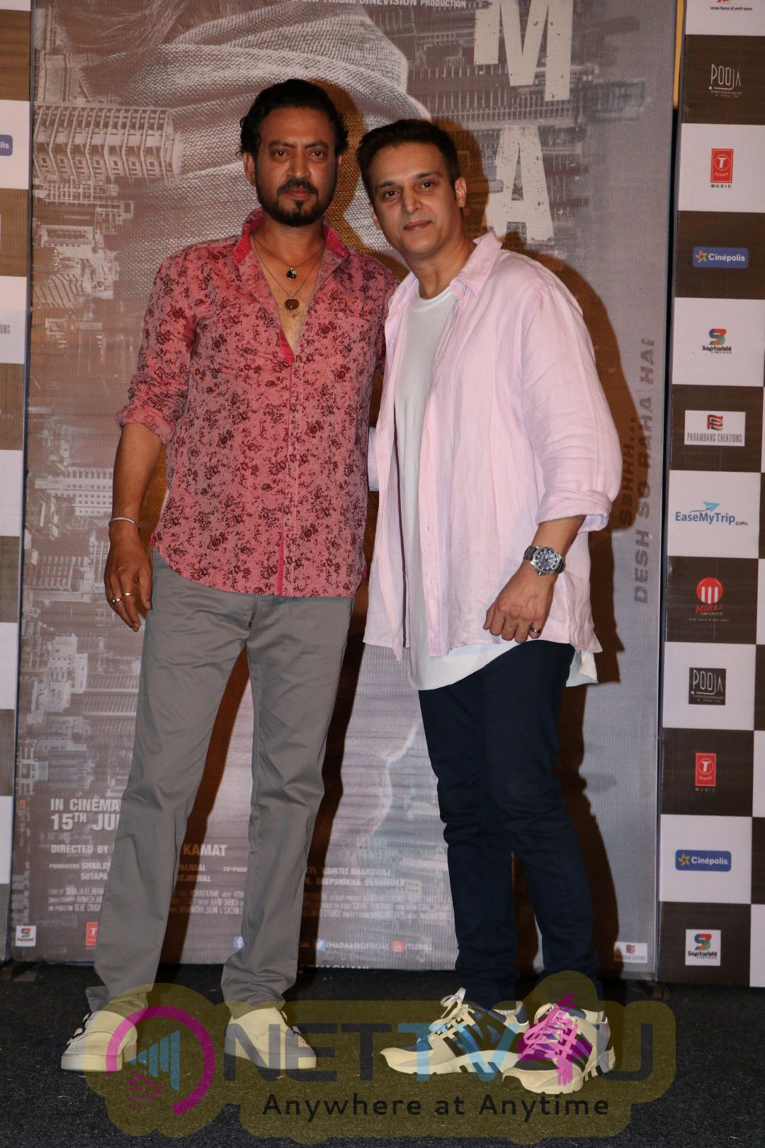 Song Launch Of Dama Dam From Madaari With Irrfan Khan & Nishikant Kamat Excellent Stills