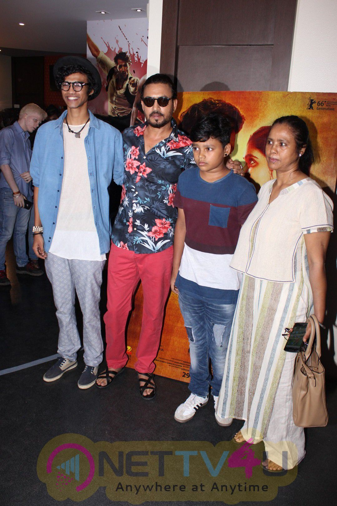 Special Screening Of Sairat Host By Irrfan Khan Attractive Photos