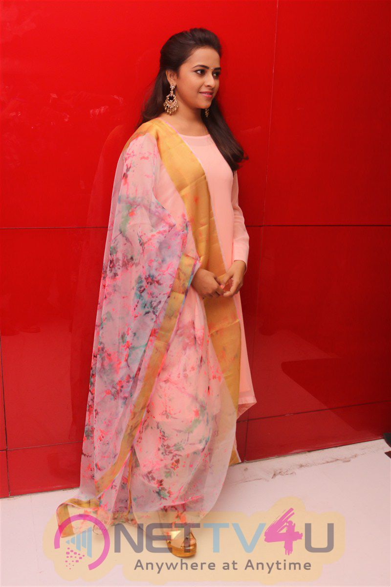 Sri Divya Beautiful Photos At Maaveeran Kittu Audio Launch