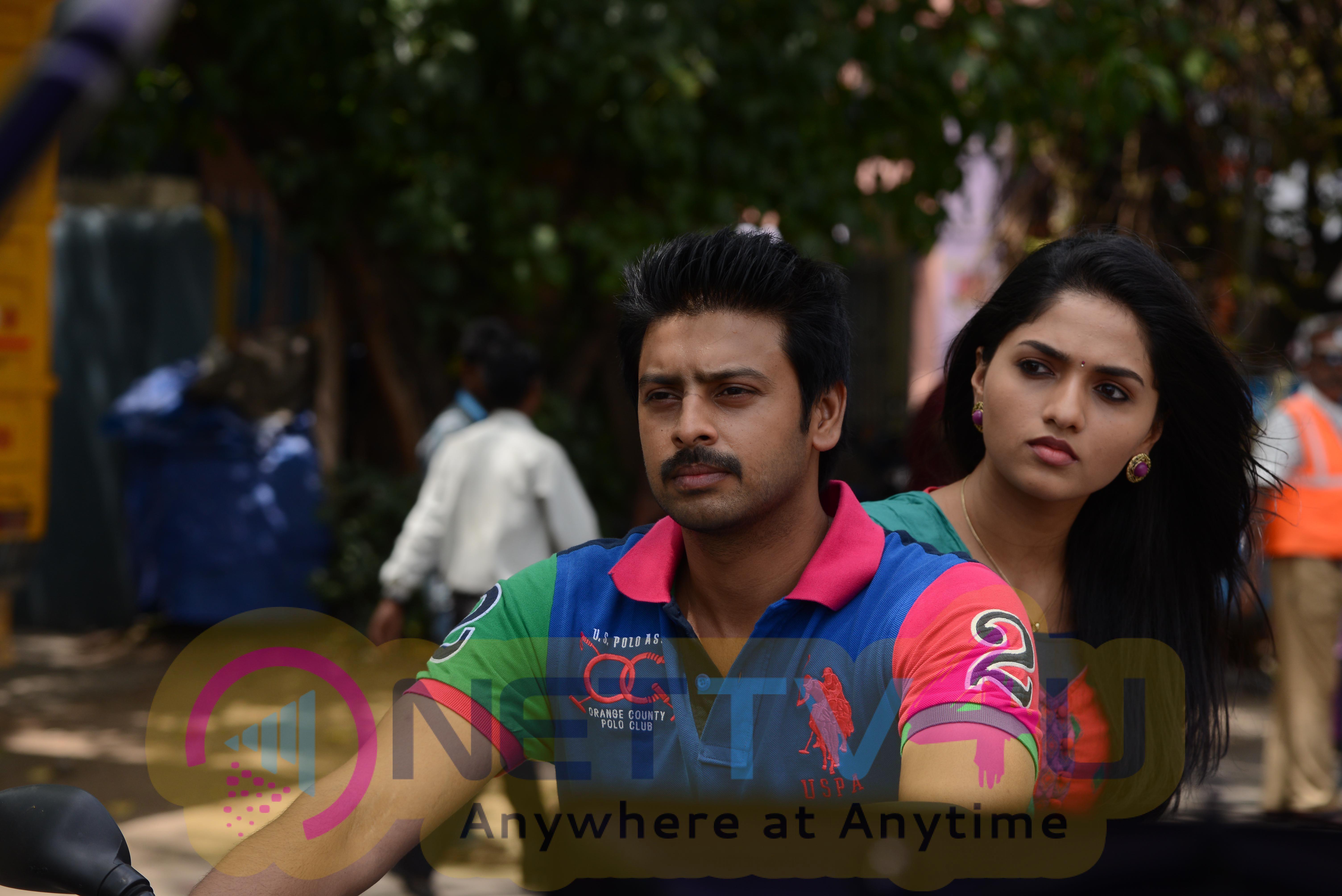 Srikanth And Sunaina Stills In Movie Nambiar