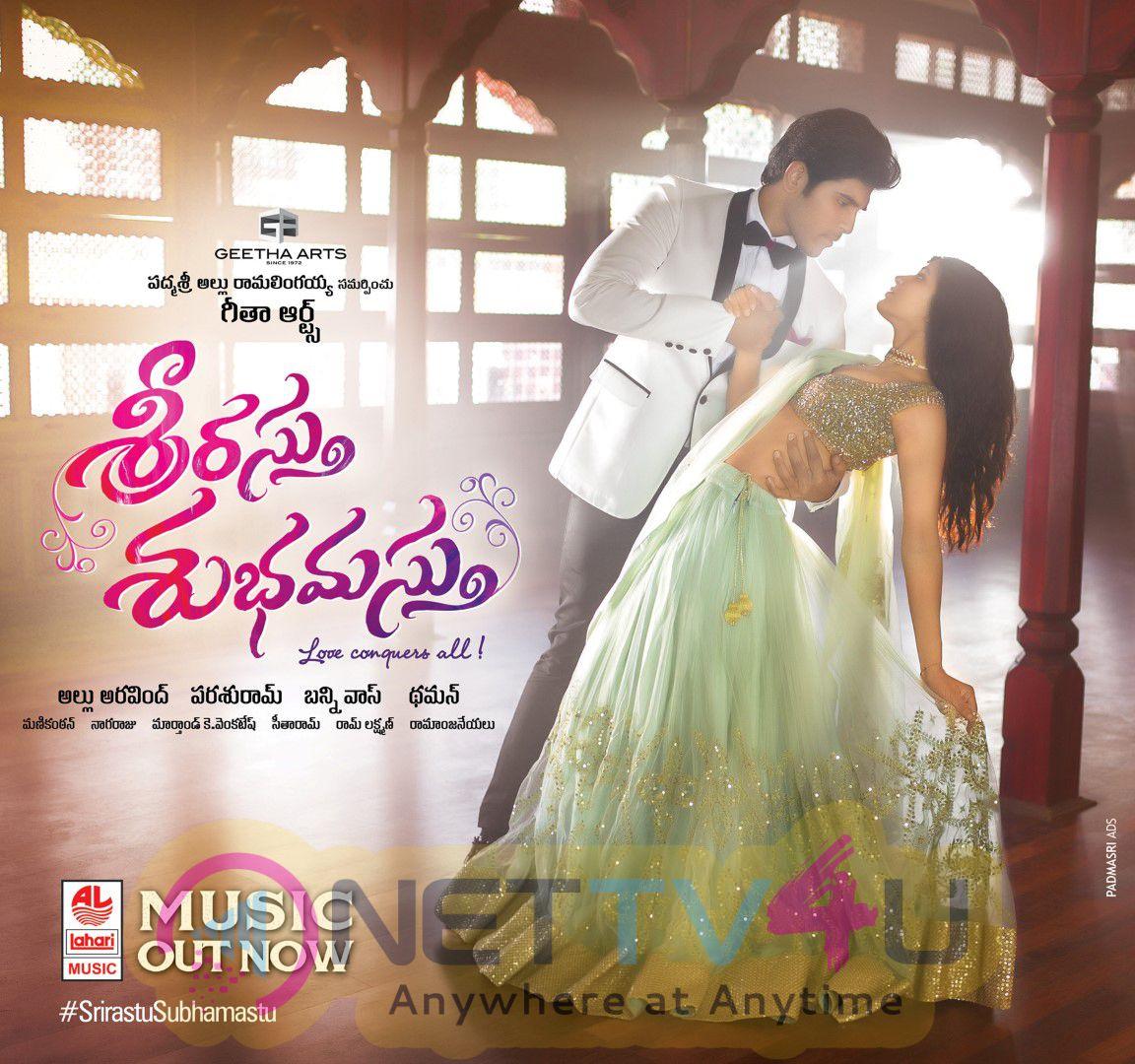 Srirastu Subhamastu Telugu Movie Audio Release Wallpapers