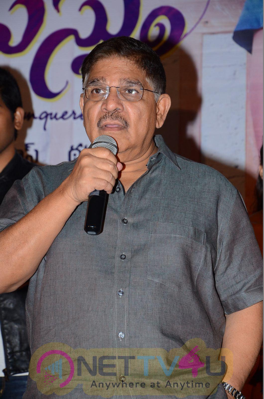 Srirastu Subhamastu Telugu Movie Trailer Launch Excellent Stills