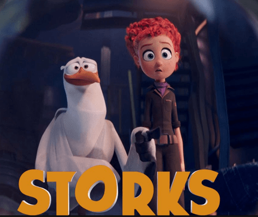 Storks Movie English Movie