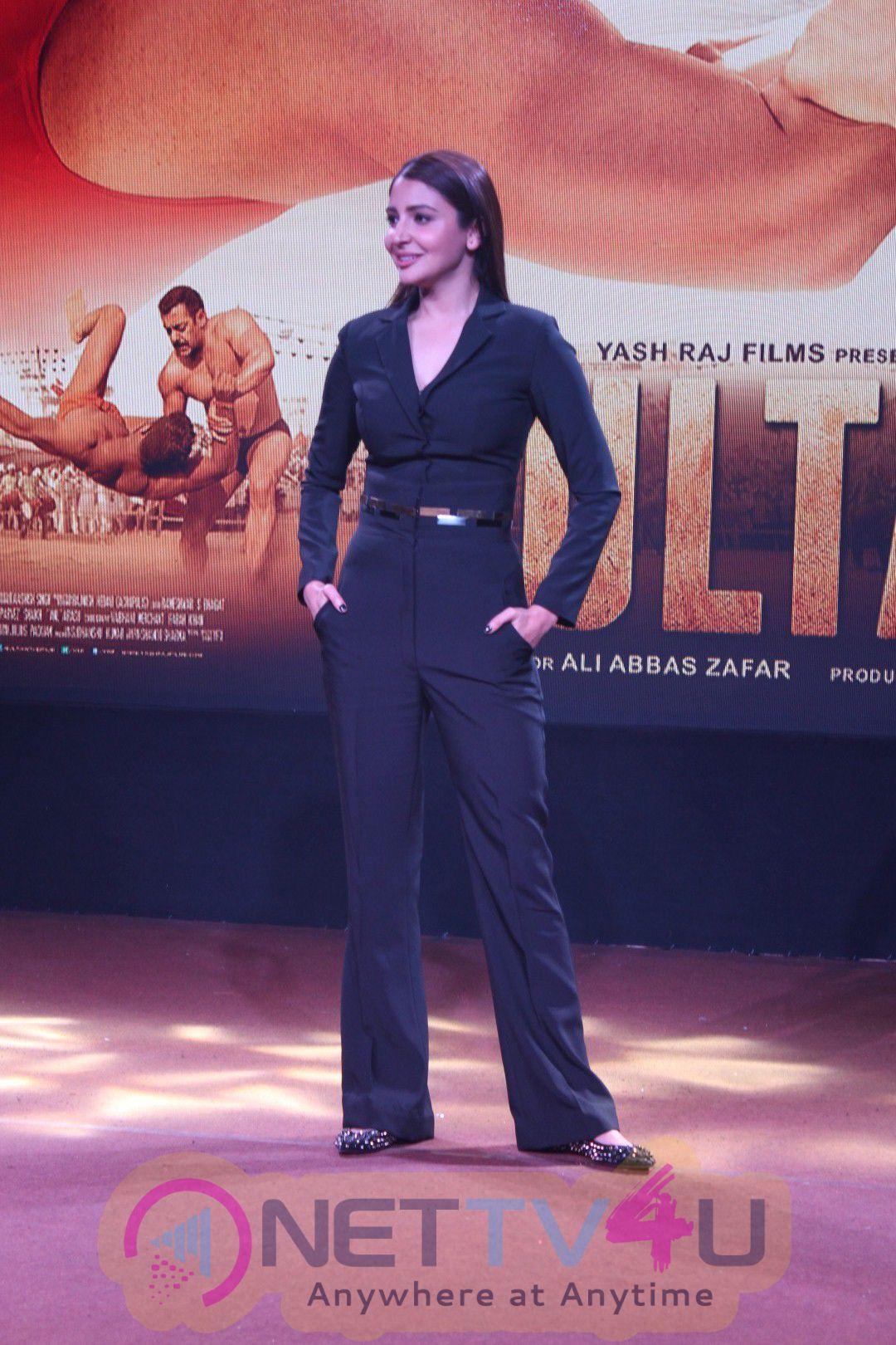 Sultan Official Trailer Launch With Salman Khan & Anushka Sharm Event Uncut Stills