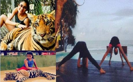 Sushmita Holidays With Daughters!