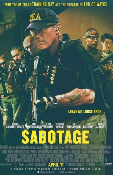 Sabotage Movie Review English
