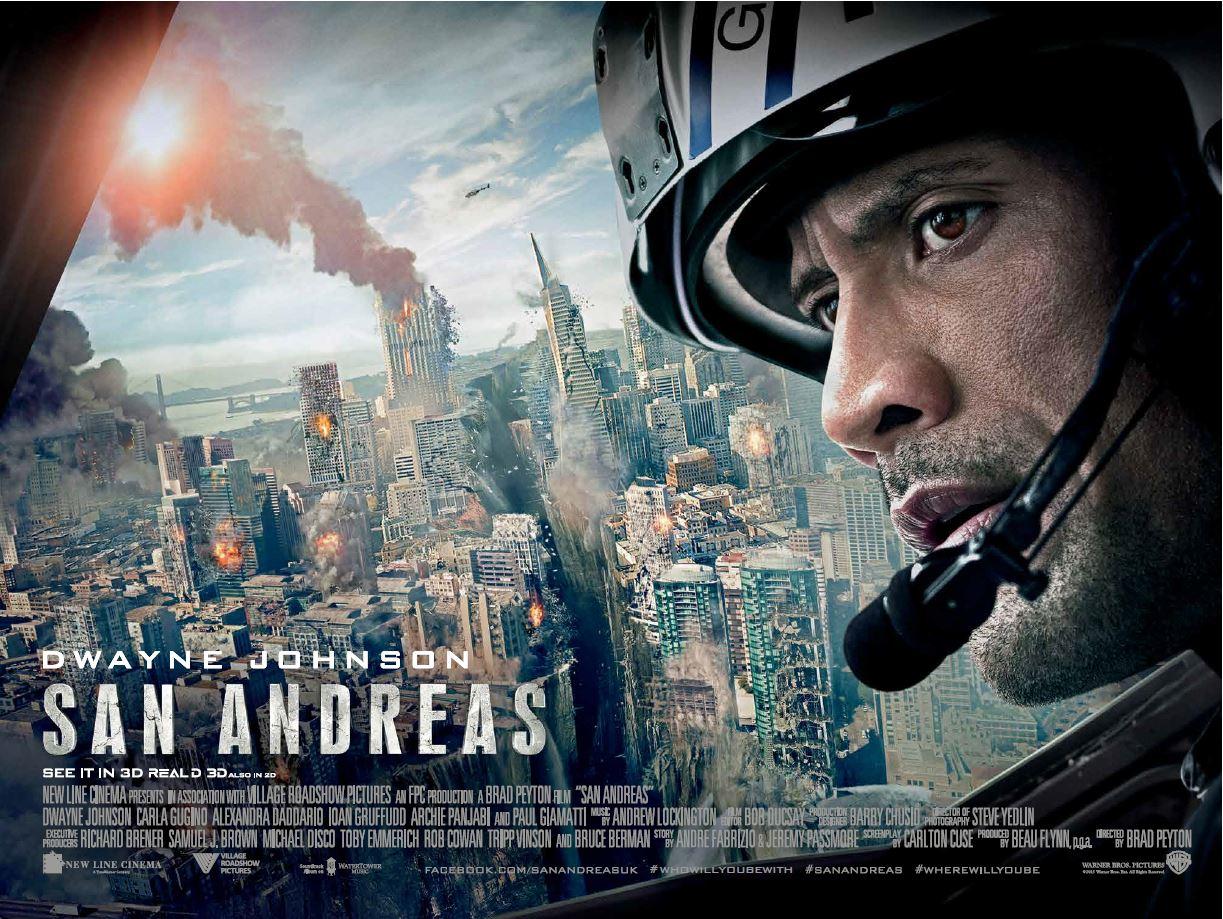 San Andreas Quake Movie Review English