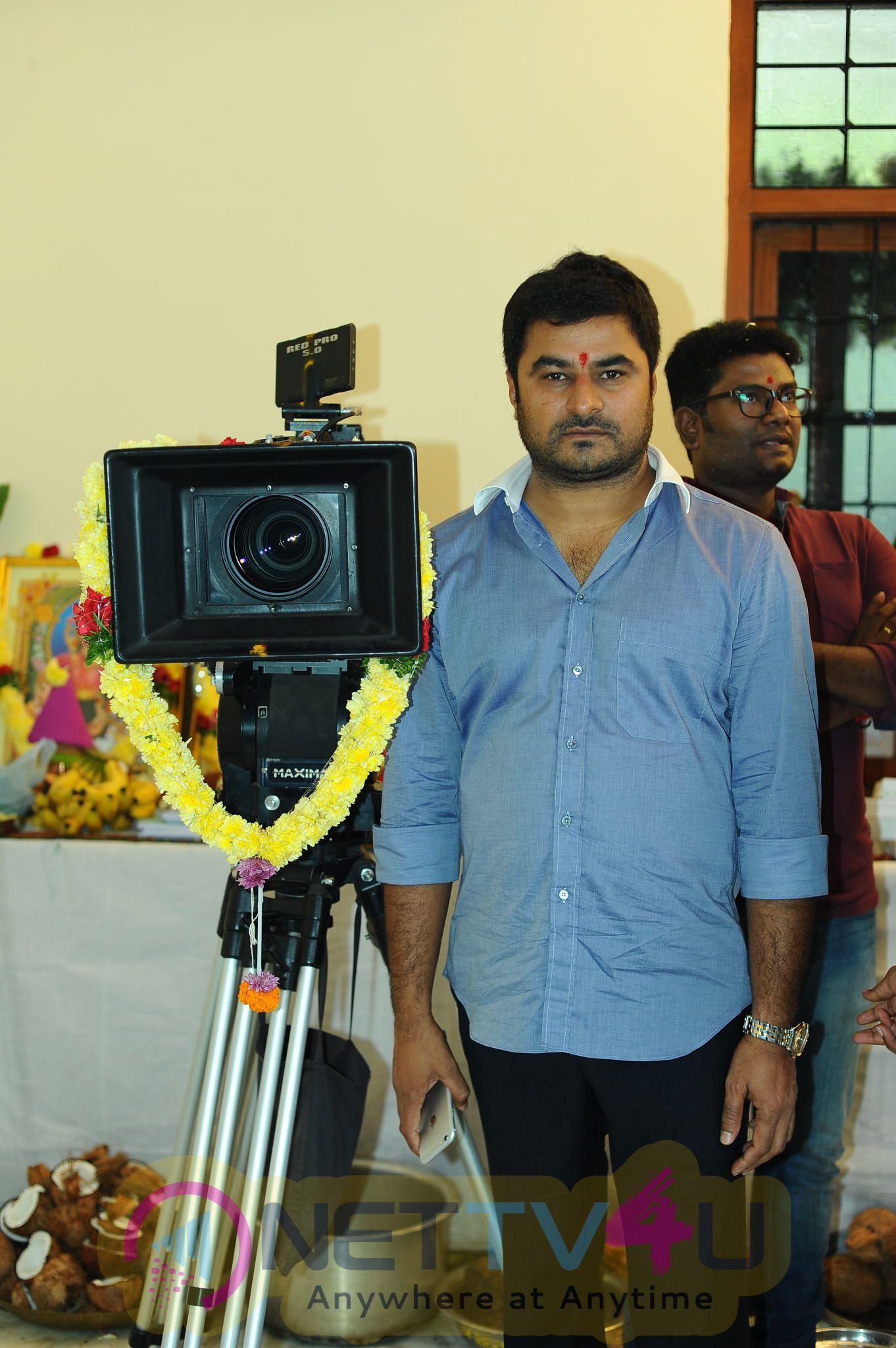 Sandeep Kishan's New Movie Opening Pooja Stills